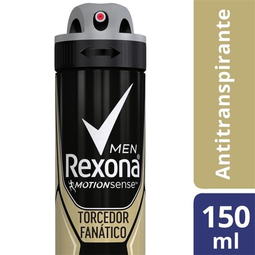 Imagem de Desodorante aerosol rexona 150ml torcedor fanatico