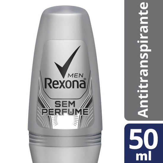Imagem de Desodorante roll-on rexona 50ml sem perfume