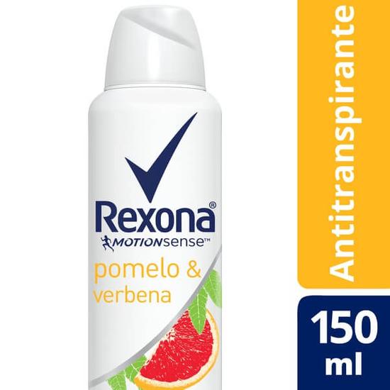 Imagem de Desodorante aerosol rexona 150ml pomelo e verbena
