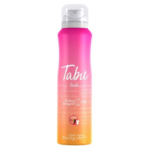 Imagem de Desodorante aerosol tabu 150m linda