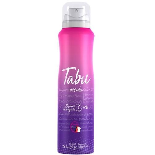 Imagem de Desodorante aerosol tabu 150m ousada