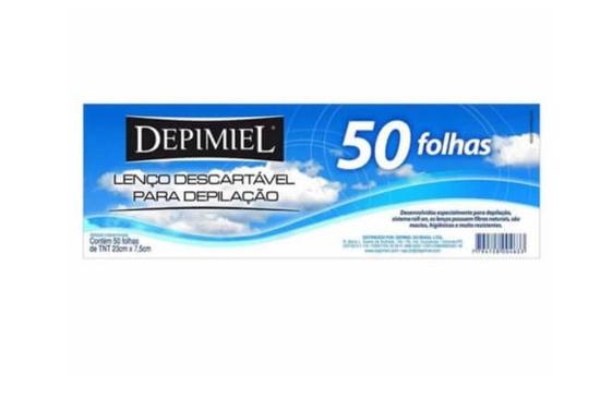 Imagem de Depilatório papel depimiel c/50 tnt