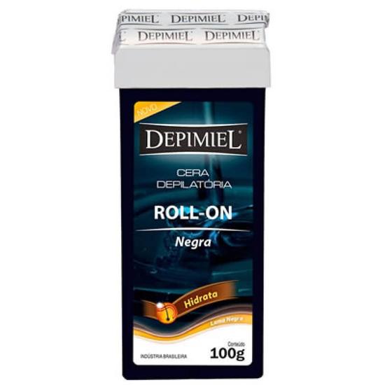 Imagem de Depilatório refil roll on depimiel 100g negra