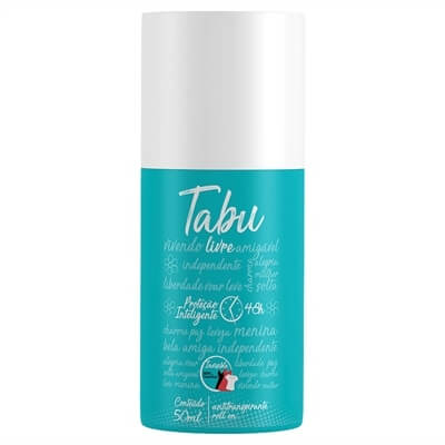 Imagem de Desodorante roll-on tabu 50ml livre
