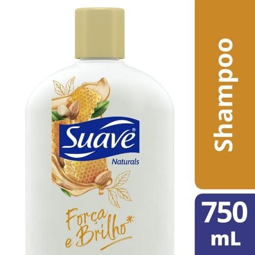 Imagem de Shampoo uso diário suave 750ml mel e amendoas