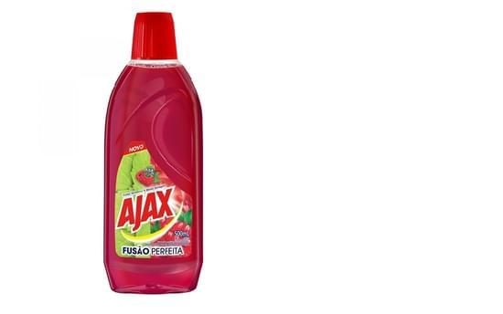 Imagem de Limpador perfumado ajax 500ml frutas vermelhas e menta