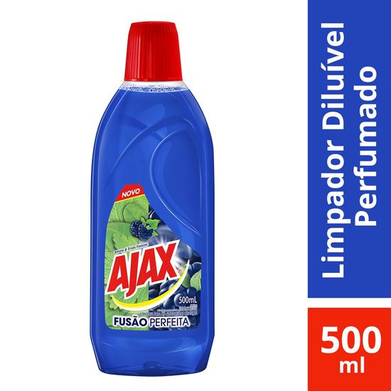 Imagem de Limpador perfumado ajax 500ml amora e ervas frescas