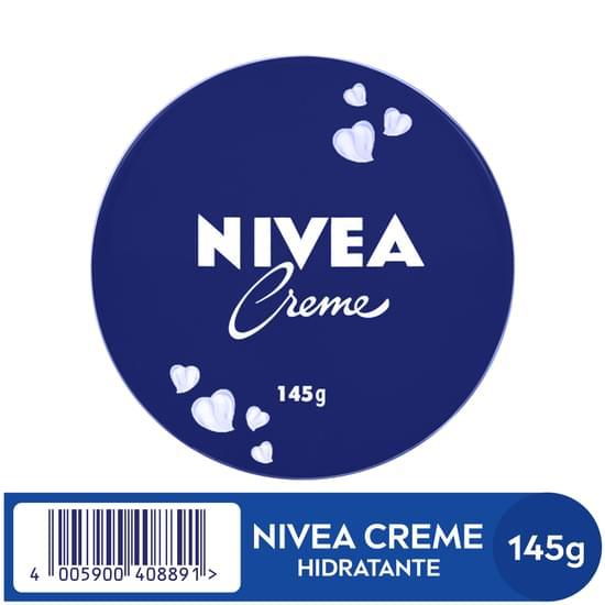 Imagem de Creme hidratante nivea 145g lata
