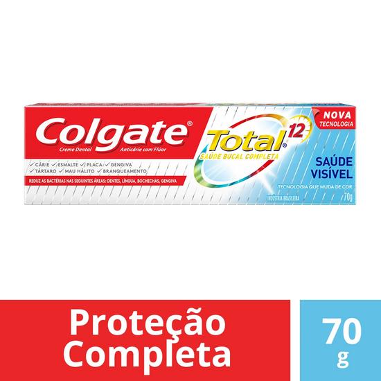 Imagem de Creme dental terapeutico colgate 70g saúde visível