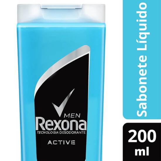 Imagem de Sabonete líquido uso diário rexona 200ml active fresh