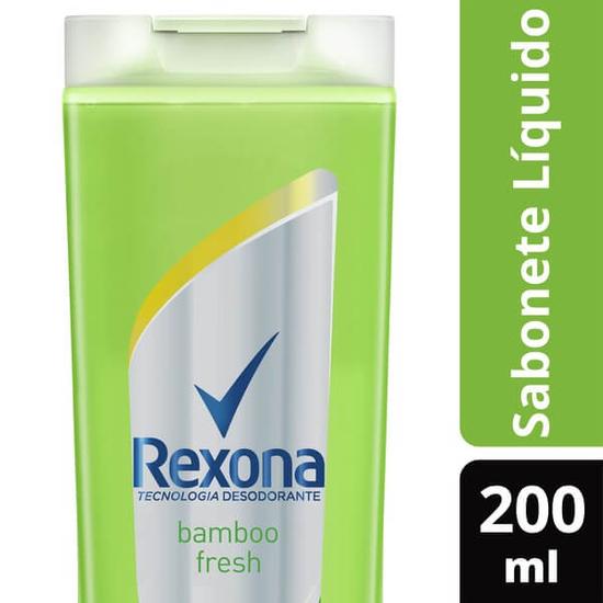 Imagem de Sabonete líquido uso diário rexona 200ml bamboo fresh