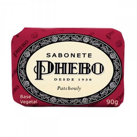 Imagem de Sabonete em barra glicerinado phebo 90g patchouly