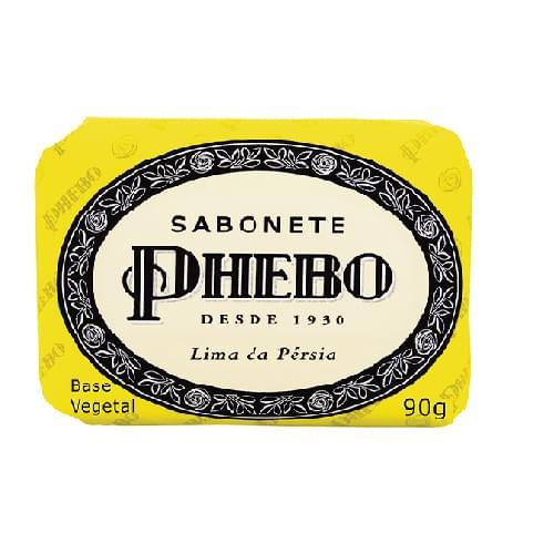 Imagem de Sabonete em barra glicerinado phebo 90g lima da pérsia