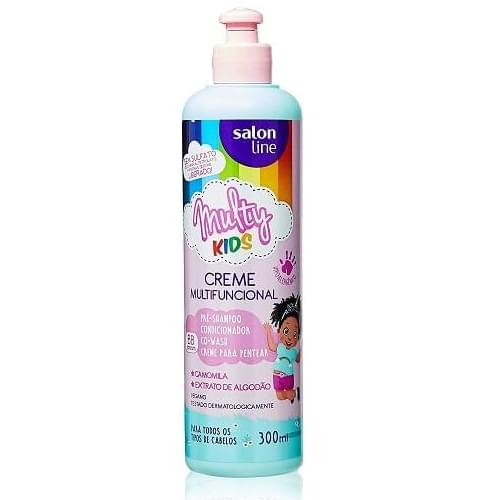 Imagem de Creme para pentear salon line 300ml multy kids