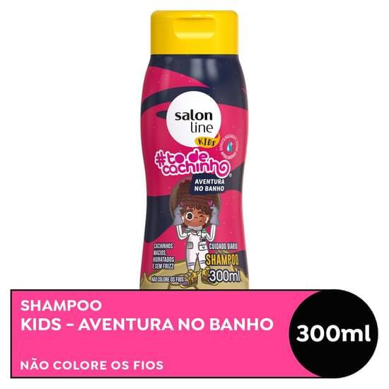Imagem de Shampoo uso diário salon line 300ml to de cacho kids
