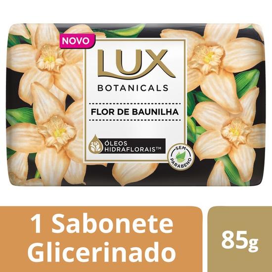 Imagem de Sabonete em barra uso diário lux suave 85g flor de baunilha