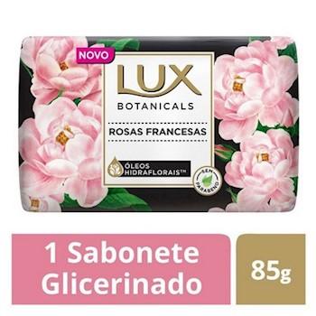 Imagem de Sabonete em barra uso diário lux suave 85g rosas francesas