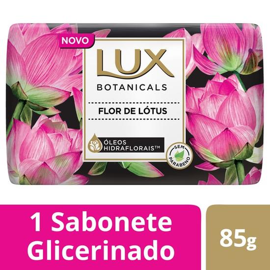 Imagem de Sabonete em barra uso diário lux suave 85g flor de lotus
