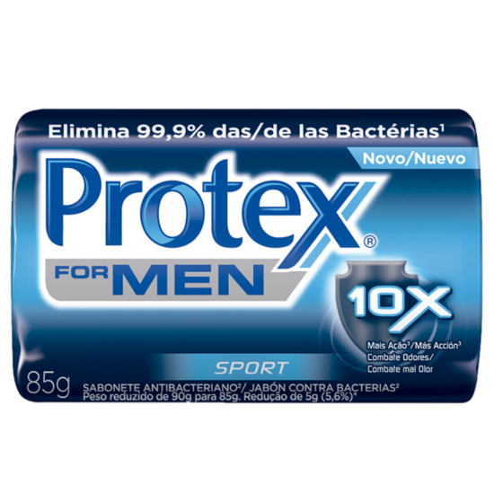 Imagem de Sabonete em barra bactericida protex 85g men sports
