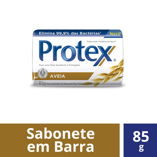 Imagem de Sabonete em barra bactericida protex 85g aveia