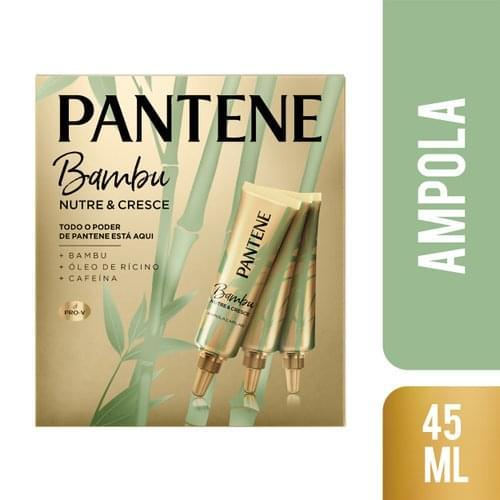 Imagem de Ampola tratamento pantene 15ml bambu