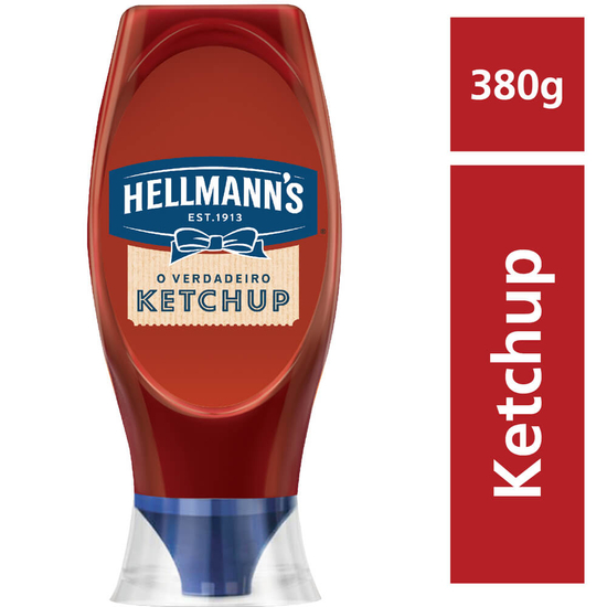 Imagem de Ketchup squeeze hellmanns 380g tradicional
