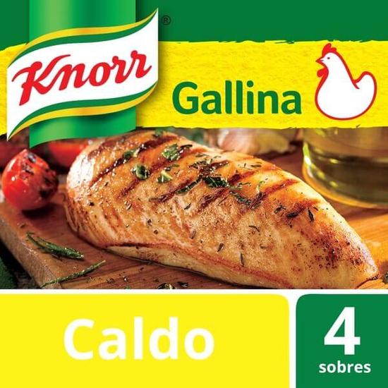 Imagem de Caldo em tablete knorr 57g galinha