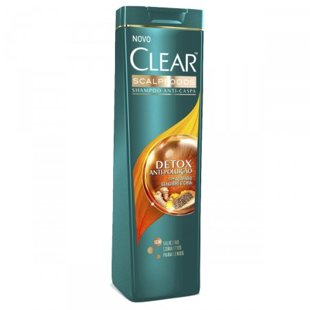 Imagem de Shampoo anti caspa clear 200ml antipoluição