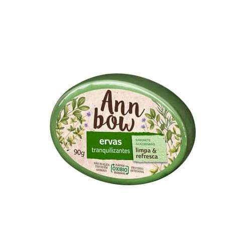 Imagem de Sabonete em barra glicerinado ann bow 90g ervas tranquilizantes