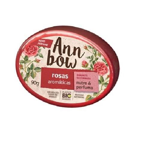 Imagem de Sabonete em barra glicerinado ann bow 90g rosa aromático