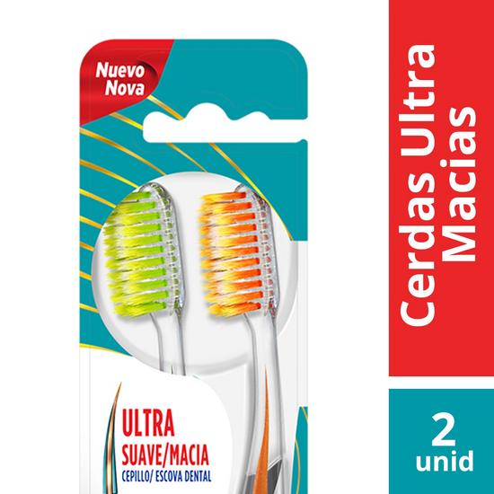 Imagem de Escova dental macia colgate slim soft