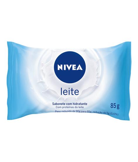 Imagem de Sabonete em barra uso diário nivea 85g leite