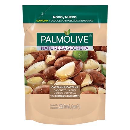 Imagem de Sabonete líquido uso diário palmolive 200ml castanha