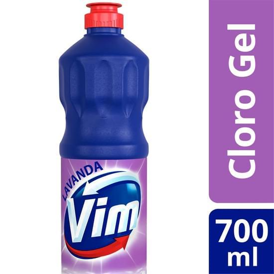 Imagem de Limpador cloro ativo vim 700ml aditivado lavanda