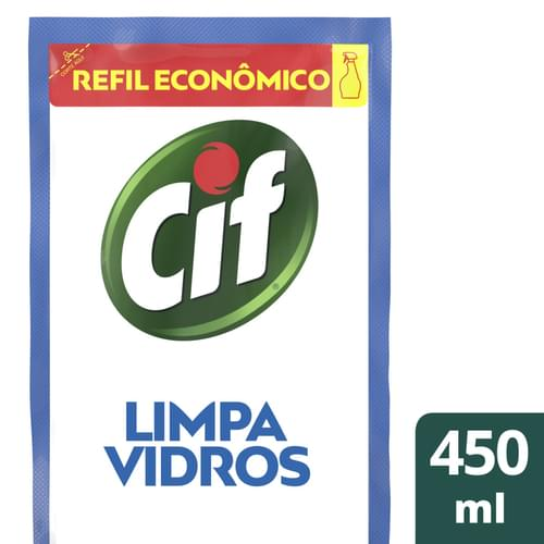Imagem de Limpa vidro refil cif 450ml ultra rápido