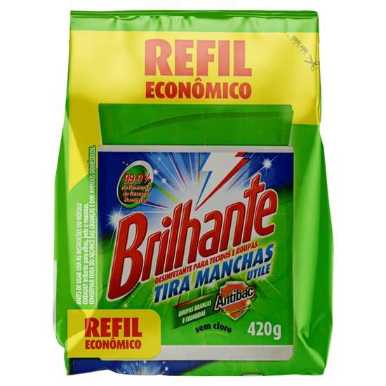 Imagem de Tira manchas em pó brilhante 420g antibac refil