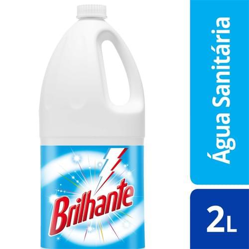 Imagem de Água sanitária cloro ativo brilhante 2l