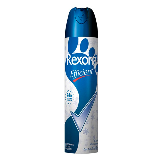 Imagem de Desodorante para pés rexona 153ml efficient aerosol