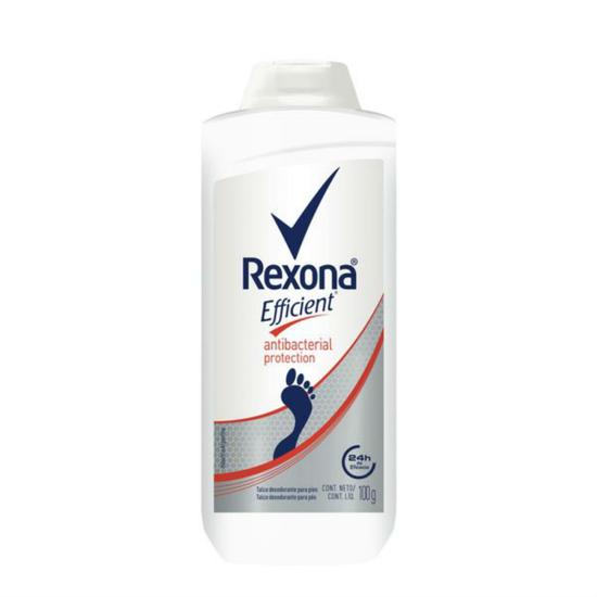 Imagem de Desodorante para pés rexona 100g efficent antisseptico pó