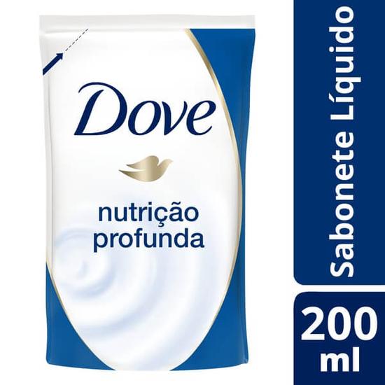 Imagem de Sabonete líquido uso diário dove 200ml nutrição profunda refil