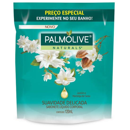 Imagem de Sabonete líquido uso diário palmolive 120ml jasmim refil
