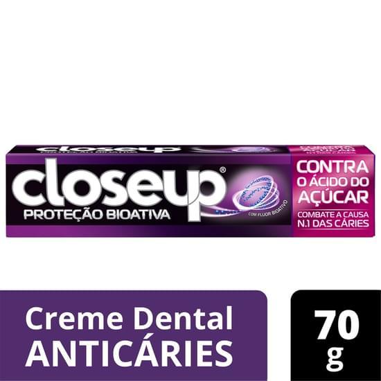 Imagem de Creme dental tradicional close-up 70g proteção bioativa