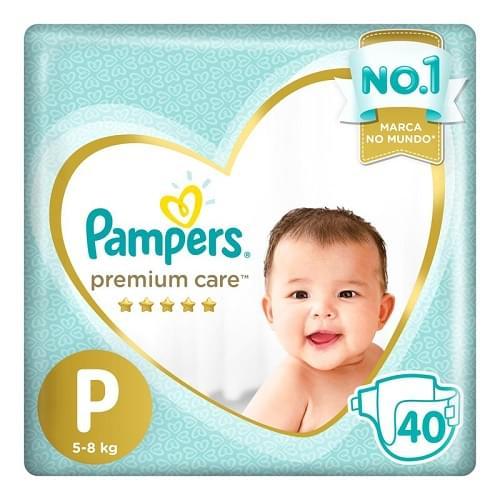 Imagem de Fralda infantil pampers premium care c/40 mega p pc