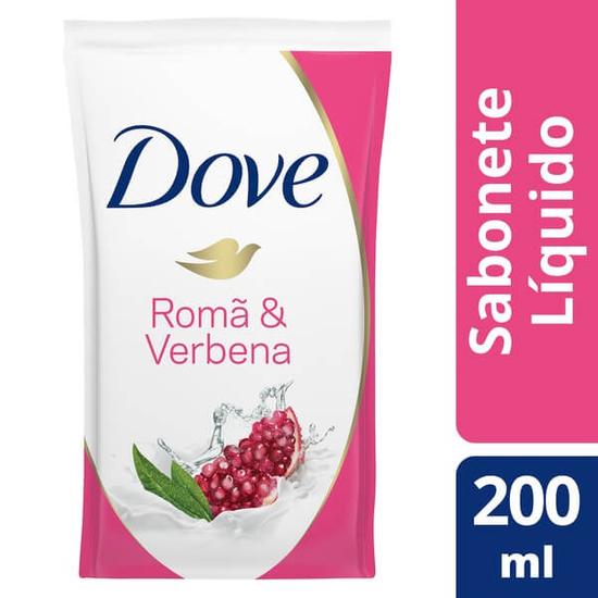 Imagem de Sabonete líquido refil dove 200ml roma e verbena