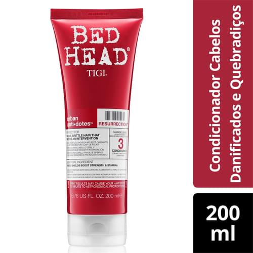 Imagem de Condicionador uso diário bed head 200ml resurrection