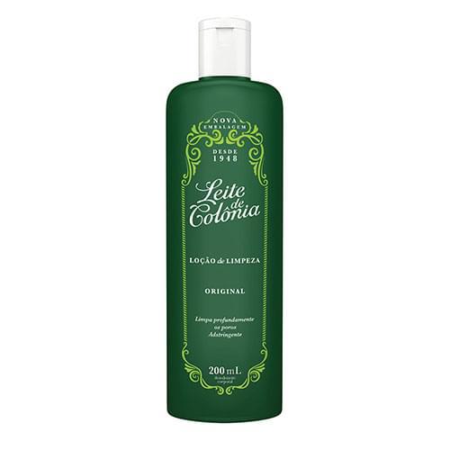 Imagem de Leite corporal limpeza leite de colônia 200ml tradicional verde