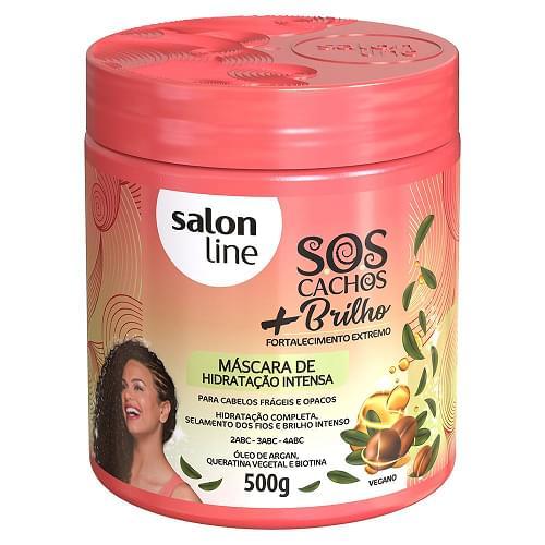 Imagem de Creme tratamento salon line 500g sos radiance