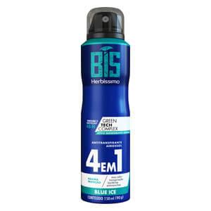 Imagem de Desodorante aerosol herbíssimo 150ml masculino blue ice