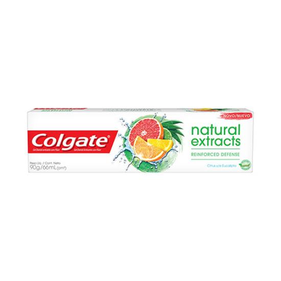 Imagem de Creme dental tradicional colgate 90g naturals defesa reforçada