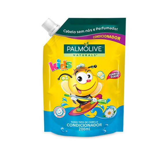 Imagem de Condicionador infantil palmolive 200ml kids todos tipos de cabelos